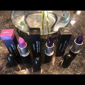Set of 3 MAC Lipsticks brand new in box